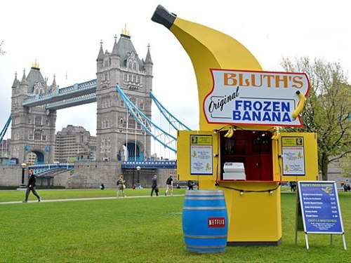 Arrested Development's Bluth's Frozen Banana Stand Pops Up in London