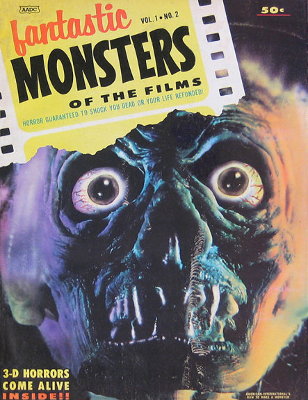 Fantastic Monsters Of The Films #2 (1962)