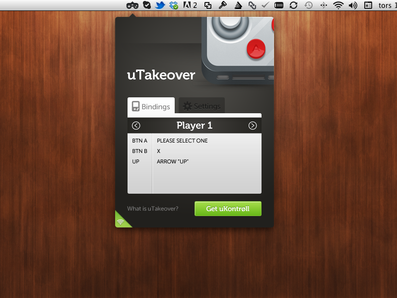 uTakeover version 1.0 is released! Download the app now, and use it with your favorite flash game, emulator or regular game. Also visit uKontrøll and download the iPhone app.  We choose to make all the source code for uTakeover available for free, and will release it in the Mac App store for free as well, later on. Hack away!
