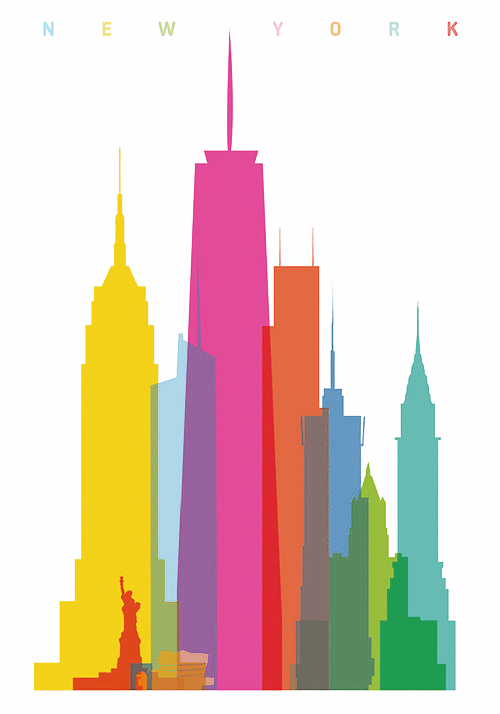 "totallytransparent:  Semi Transparent Edit of ""New York"" by Yoni AlterMade by Totally Transparent"