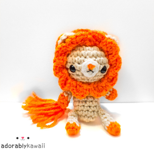Lion Amigurumi Version 3 by adorablykawaii •ᴥ• on Flickr.