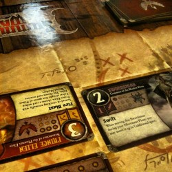 Summoner Wars - Chris (Shadow Elves) def Hilary (Phoenix Elves)