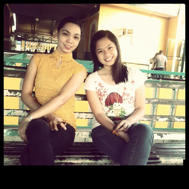 With ate  jesusan ! :)