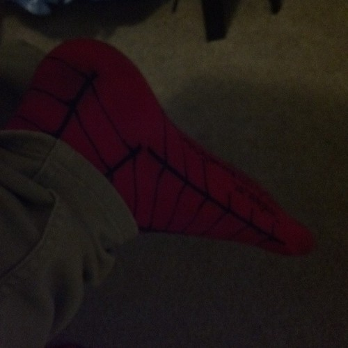 #spiderman #socks #gamer #geek #nerd