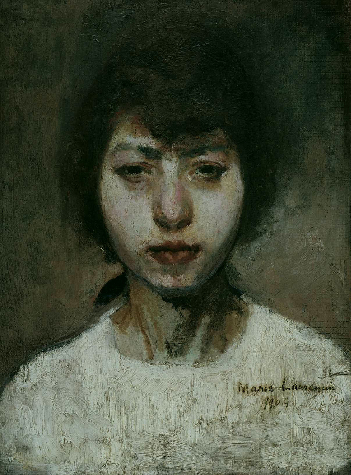 Marie Laurencin: Self- Portrait (1904)