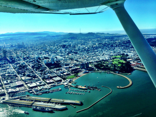 tdpilot:  Beautiful San Francisco from the air. 1200ft in a Cessna 172.