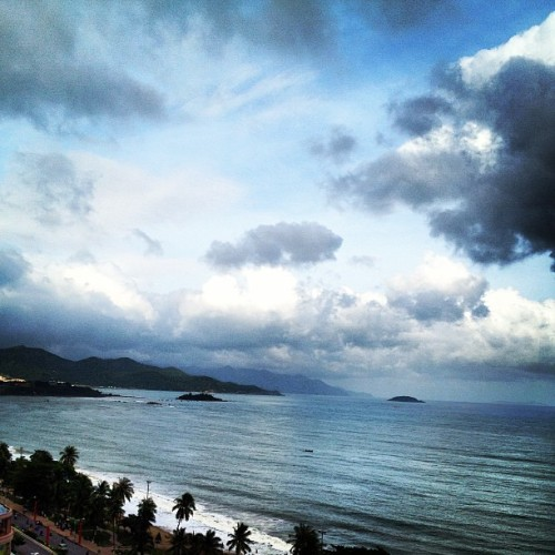 The #view from our balcony. #beach #nhatrang #sheraton   #vietnam #vacation #honeymoon  (at Sheraton Nha Trang Hotel & Spa)