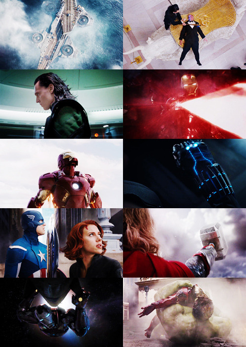 "The Avengers. It's what we call ourselves, sort of like a team. ""Earth's Mighiest Heroes"" type thing."