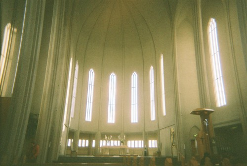 Inside Hallgrimskirkja, from November 2012. It's funny, of all the times I've visited Iceland (10 year anniversary of my first trip coming next year! eep!) there were still a lot of things I'd not even tried. With this in mind, me and Sophie decided we'd do as much as we could that we'd not done before, to make the trip something extra special. We started by doing the touristy thing of heading up to the top of the church for a few snaps of the view - something I probably should've done a long time ago! It was pretty awesome - seeing the whole city from up high. It reminded me of my first trip, and getting so lost walking around, that I ended up using the massive steeple that dominates the skyline as a sort of compass. It worked as well, and still use it as a method even now!