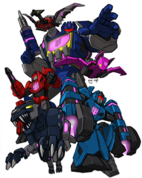 vitagox:  FoC Soundwave and his minions by *KevinRaganit