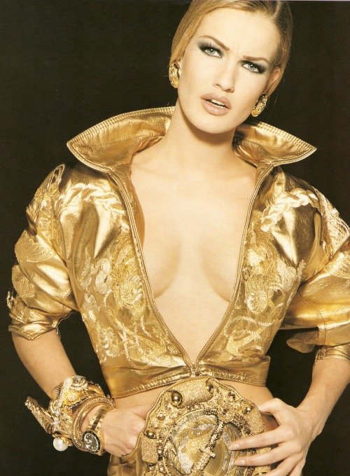 Versace, early 90sModel : Karen Mulder