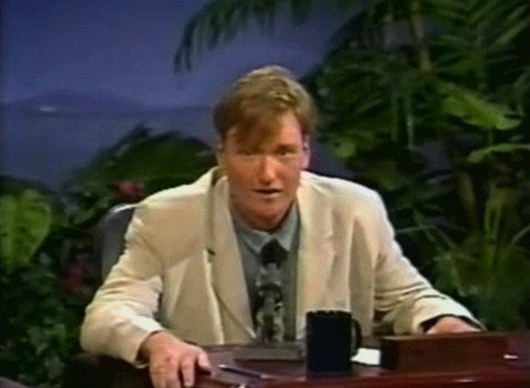 "teamcoco:  ""20 years ago today I auditioned for my ""Late Night"" job. Here's what it looks like when an 11 year old hosts a show."" - Conan [Video]"