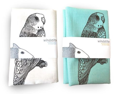 77wild-hearts:  Lovely Bird tea towel!