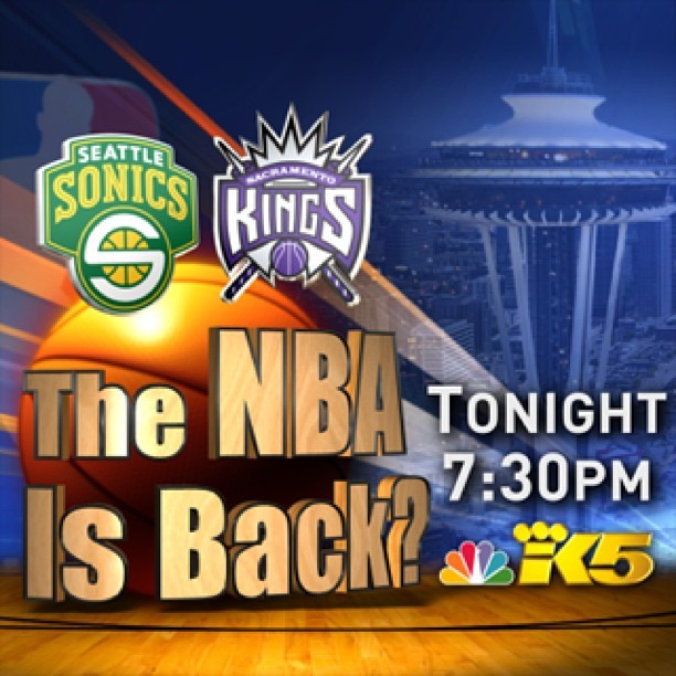Who's ready for some basketball? #seattle #seattlearena #sonics #king5