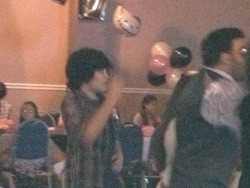 Stealth photos of The Boy on the dance floor ACTUALLY DANCING