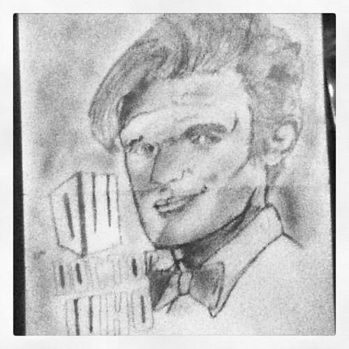 Old drawing I did of Max Smith aka the 11th Doctor #doctorwho #drwho #maxsmith #max #smith #11thdoctor #11thdr #drawing #art #artwork #british #britishtv #boeties #bowties #are #cool #brits #bbc #bbcamerica  #love