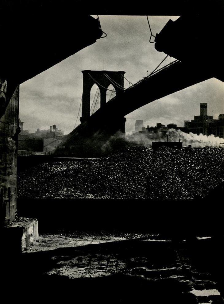 The Old Bridge, South Street, New York City Alexander Alland