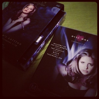 Because you can never watch it enough. #buffy