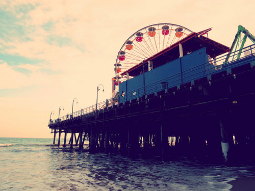 Santa Monica Pier on Flickr.