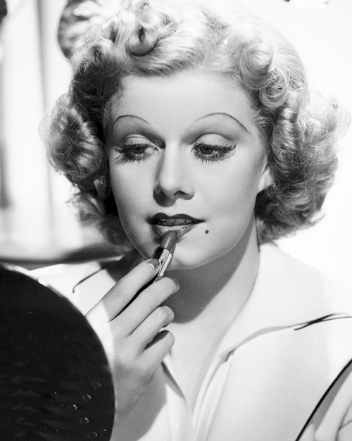 steamboatbilljr:  Jean Harlow photographed by Ted Allan, 1936