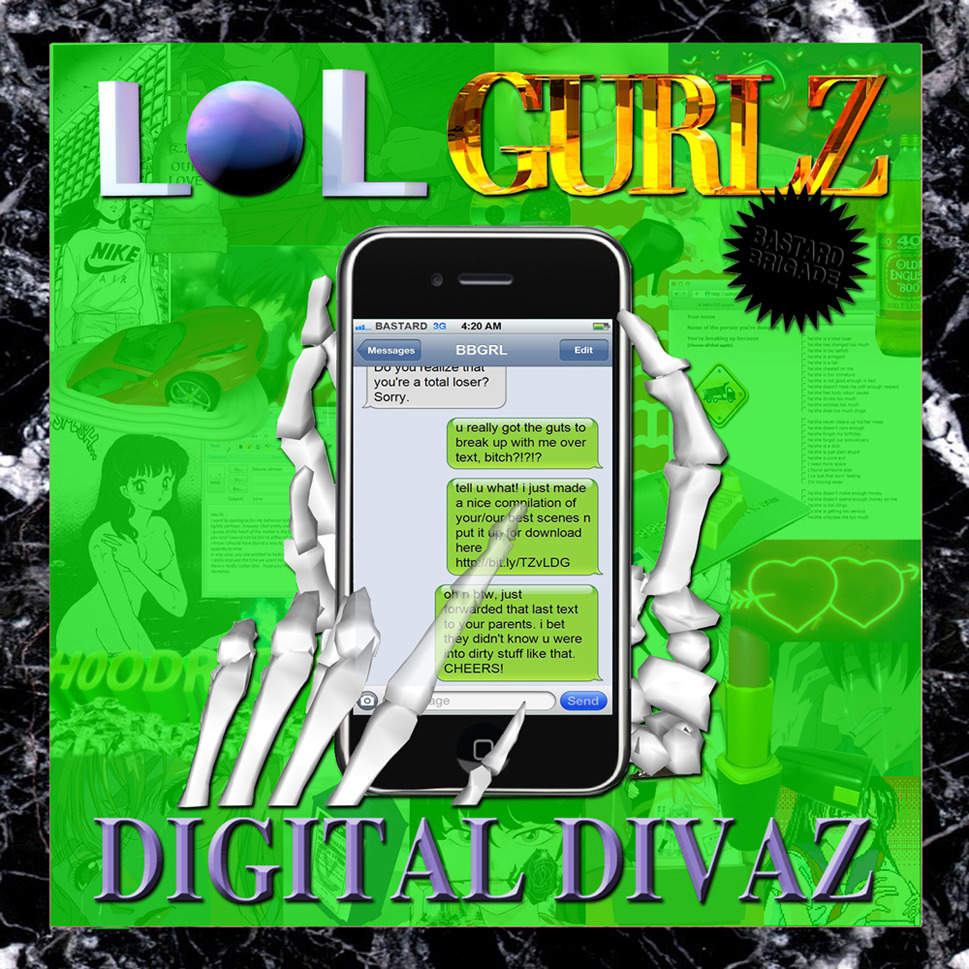 "♒ ATTENTION! ♒ @LOLGURLZ4REAL DROPPED THE WEIRDEST TUNES OF THE NET T☯D✯¥!!DOUBLE SINGLE ::: ""DIGITAL DIVAZ ft. Dj Uniique"" /// ""CRYME 'N PUNISHMENT""THE EP FEATURES A REMIX BY OUR BELOVED DJ PAYPAL !!ALL IN FREE DOWNLOAD HERE!"