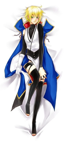 ladyragna:  All my want. Source~  Now… there just needs to be more of these with Ragna.  Oh, and Ragna needs to expose more.  *ahem.*  Though Jin does look quite nice…  I can't argue with that.
