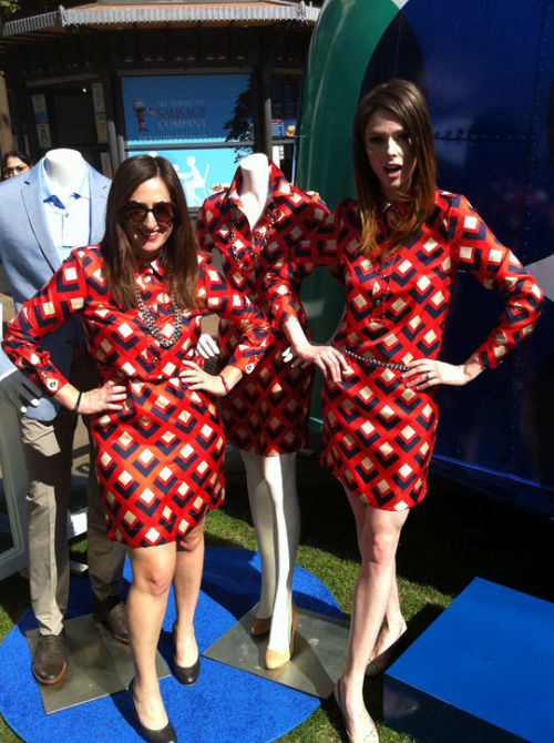 Our West Coast editor, Jen Weinberg, in a three-way fashion faceoff with Coco Rocha and a mannequin. Who wins?