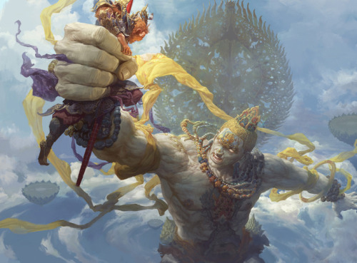 jearthebear:  Artwork by Fenghua Zhong
