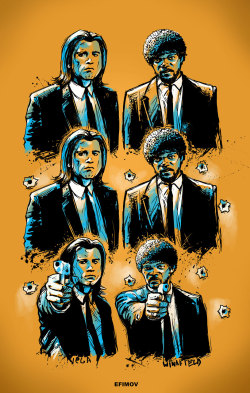 eatsleepdraw:  Pulp Fiction
