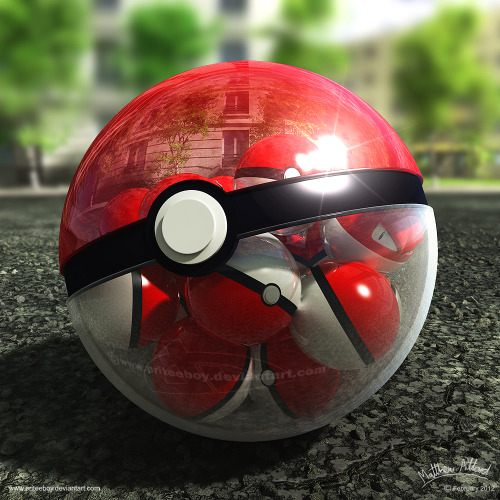 Pokeball of Pokeballs by `priteeboy