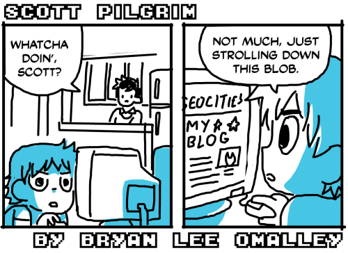 radiomaru:  a new scott pilgrim comic strip