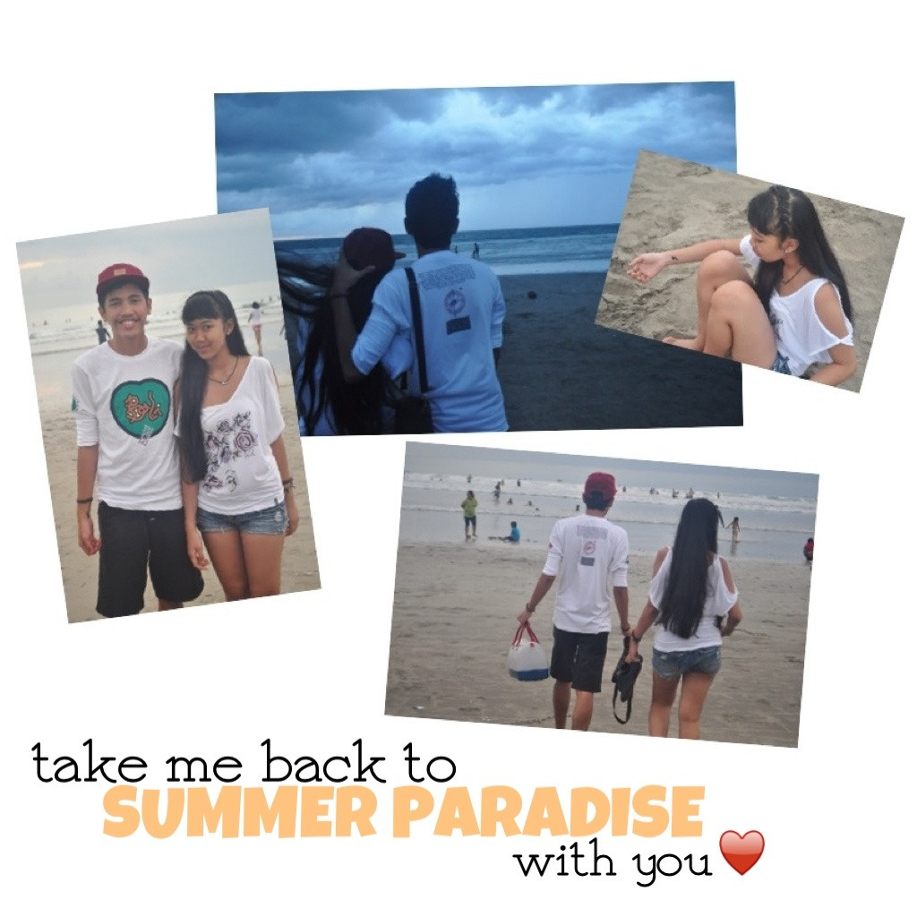 Take me back to SUMMER PARADISE with you♥