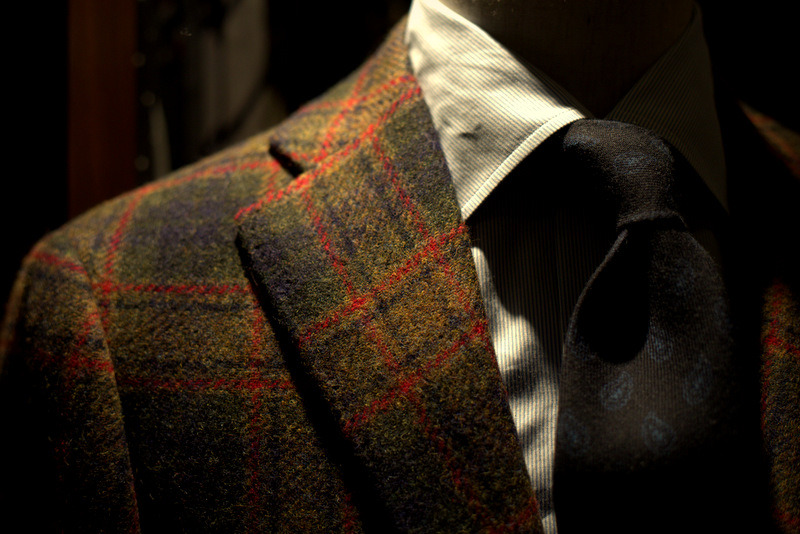 Ring Jacket Tweed
