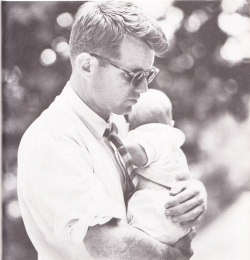 RFK with his son Michael