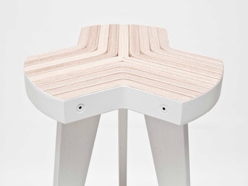 mini-mal-me:  offset by giorgiobiscaro is made from a single sheet of plywood   Single sheet of plywood transformed into art for the posterior. Nicely done.