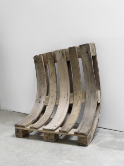 ipocrisia:  Alicja KwadeUsed and Tired - 2012pallet 85 x 80 x 40 cm