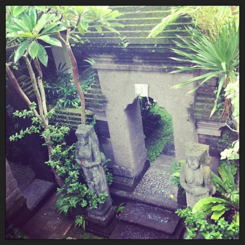 Secret gardens in Bali