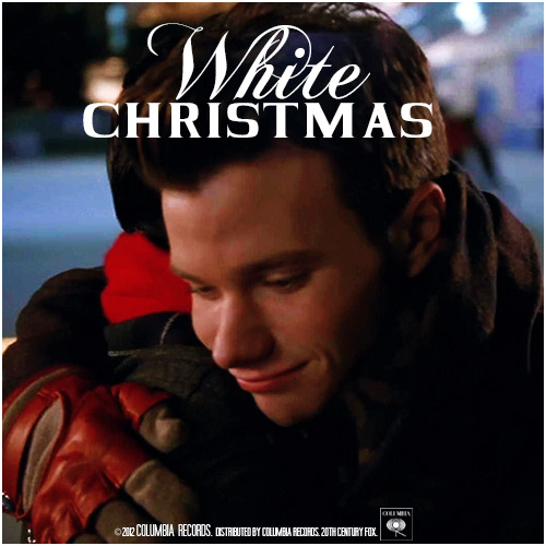 4x10 Glee, Actually | White Christmas Requested Alternative Cover