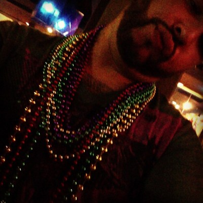 "More beads please….""show us your tata's (at Hard Rock Cafe New Orleans)"