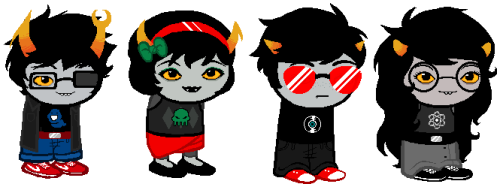 egbuns:  beta kids as trolls (corresponding to their patrons) requested by several people!!!