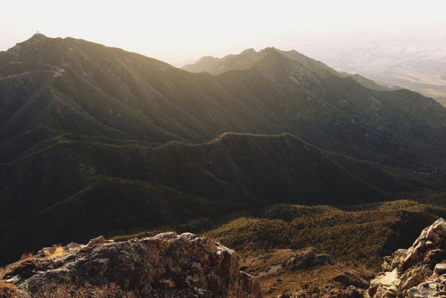 kevinruss:  Whipple mt from mt wrightson on Flickr.