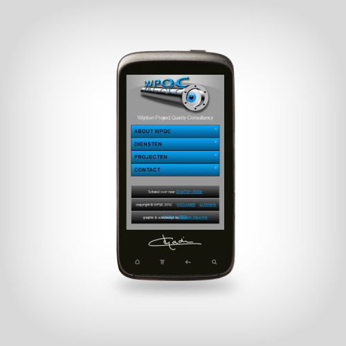 Mobile Web Design by CHADIN