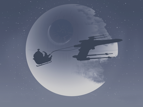 Star Wars Christmas Created by Bart Zimny