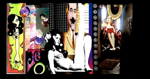 dig it, a collage by jean-Lucien godet.