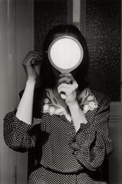lauramcphee:  Christine in the mirror, from Fluchtgedanken, 1977 (André Gelpke)