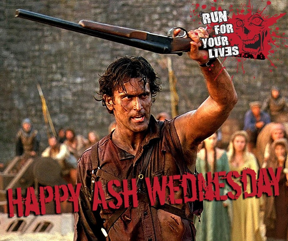 iheartchaos:  Happy Ash Wednesday  Well hello Mister Fancy Pants… Right now you're leading two things: Jack and Sh*t, and Jack left town. Happy Ash Wednesday!