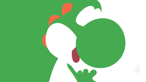 it8bit:  Wallpaper Wednesday: Yoshi Created by Krukmeister