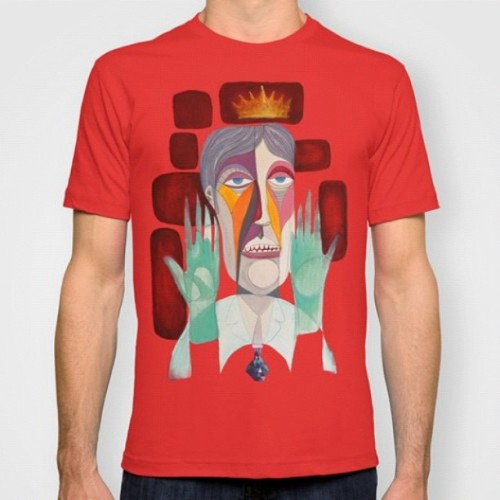 """ Dr.Robert "" t shirt free shiping worlwide until monday www.society6.com/ #tshirts #art #artist #love #igers #instamood #iphonesia #igersbarcelona #bcn #me #society6"