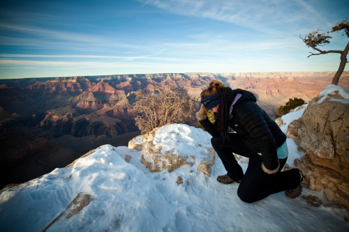 Tebowing the Canyon!