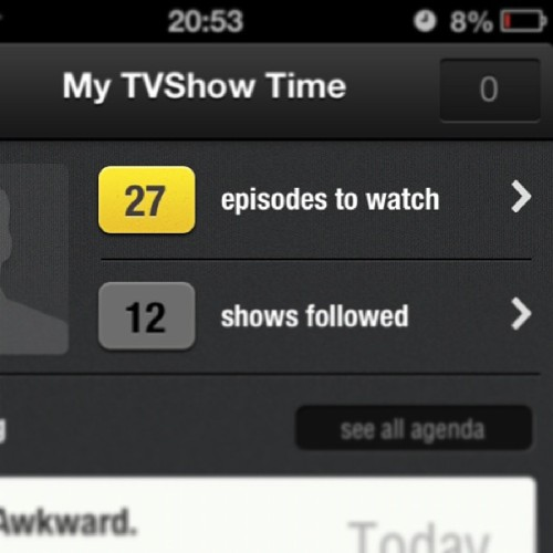 That's gonna take a while! Damn, I need to catch up on all these! #tvshows #tv #television #catchuptv #catchup #missingout #gonnatakealongtime #episodes #igdaily